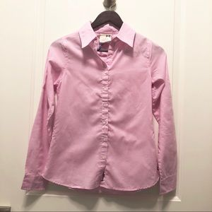 Tommy Girl Pink White Button Down S